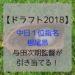 【ドラフト2018】根尾昂は中日! 4球団競合の末、与田次期監督が引き当てる!